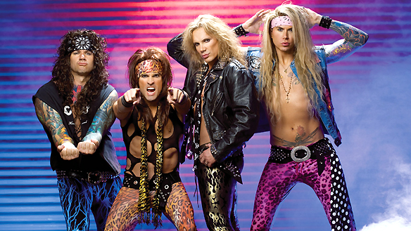 Steel Panther, une vraie fausse parodie de glam rock 80's