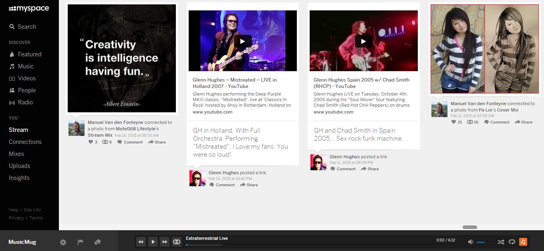 Le nouveau Myspace est-il adapté aux musiciens?