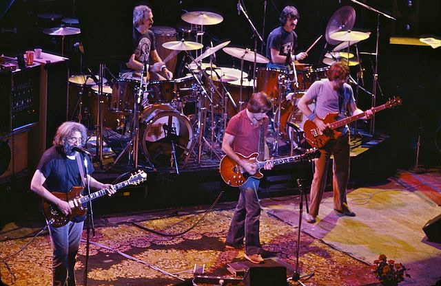 The Grateful Dead et sa liste d'envoi